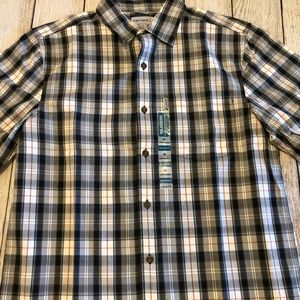 NWT Carhartt Medium Plaid Relaxed Fit Shirt Plaid
